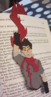 Legend of Korra bookmark - Mako by Enacragus