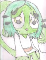 Hand drawn Lily the cat by Snowyandshadsnowy