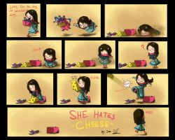She Hates Cheese by joelee88