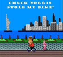 Chuck Norris Did it again by farfromahero