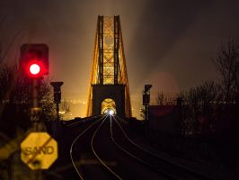 Forth Bridge, from Dalmeny by BusterBrownBB