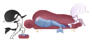 CE: Sexy Af Whales [NO REGRETS--- ok maybe 2%] by aridesunya