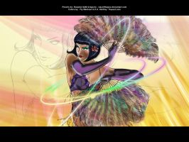 Feather Dancer by henflay