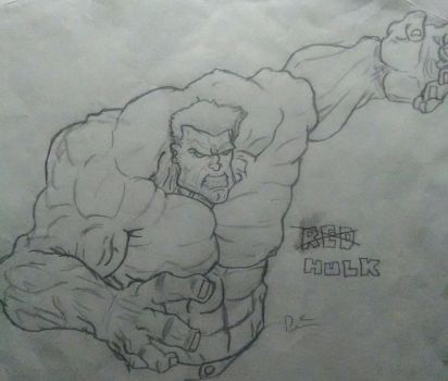 The Incredible Hulk by KingCozy7