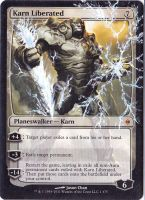 Karn Liberated Alter by Serafiend
