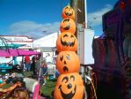 Inflatable Pumpkins at the Fair by DerpyDash64