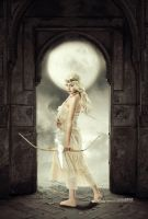 Artemis: Goddess of Light by ZakHarrar