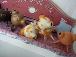 Zouie the dogy goldfish IN RESIN !! by TendresChimeres