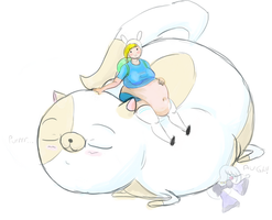 Collab :: Fionna And Cake by Metalforever