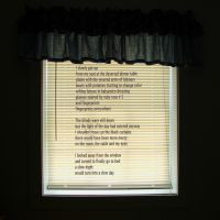 blinds after a slow night by KatDiestel