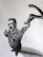 Jim Carrey Riddler 2 by donchild