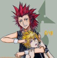 KH: 8-13 by WanderingDarkness205