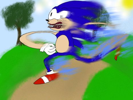 A Horrible Sanic by The-Brando