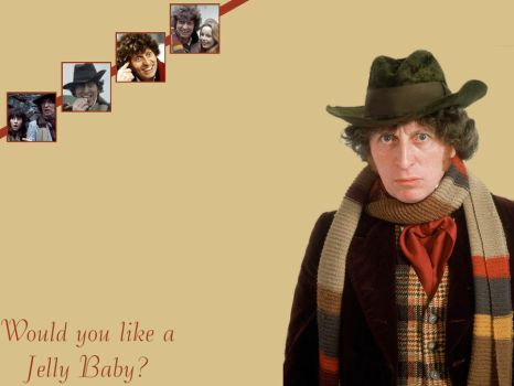 The Fourth Doctor-Wallpaper by pfeifhuhn