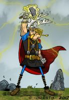 (Not exactly) Marvel's Thor by Orestix