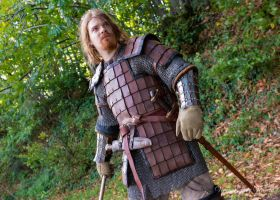 Leather armour - Front by carlviking