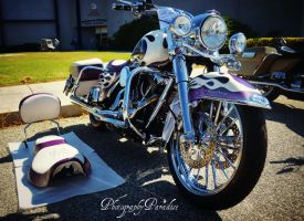 Purple Flamed Cycle by PhotographicCrypto