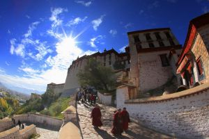 Exit from Potala by Suppi-lu-liuma
