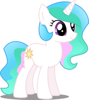 Young Celestia by Anhel032015