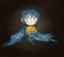 Howl and Calcifer by LouiseWitchy
