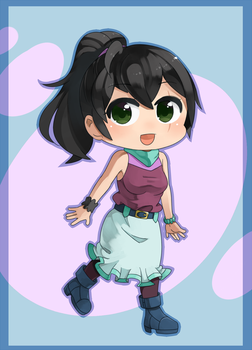Erin, Chibi 01 (Commission by grimay) by Caller-of-Storms