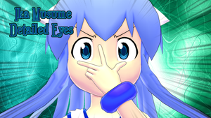 [MMD] Ika Musume Detailed Eyes Texture by Groudon100