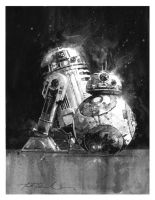 Little Droids by markmchaley