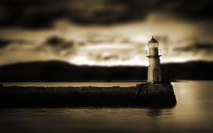 Tilt-shift Light House by Lagnar2010