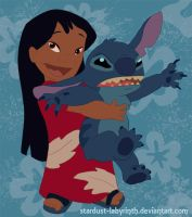 Lilo and Stitch by Stardust-Phantom