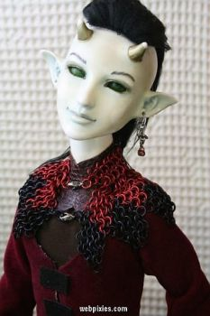 Alt View: Red-Black Mantle by pervyfaerie