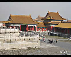 Forbidden City - Beijing by Ms-Maybe