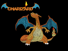 Chaizard The Flame Pokemon by TheMadLocust