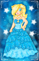 rosalina new dress by ninpeachlover