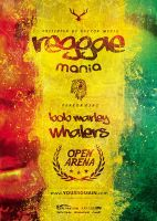Reggae - Flyer by VectorMediaGR