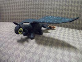 Toothless Dwagon Plush by PocketChibisAndSuch