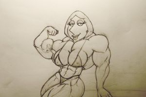 Buffed Up Lois by dr-robert420