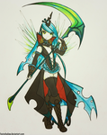 Korean MMO Chrysalis by FoxInShadow