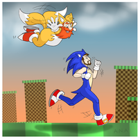 the Yogscast - Sonic the Hedgehog Challenge by RatherPeculiar