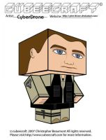 Cubeecraft - Rodney McKay by CyberDrone