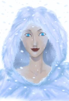 ::Queen of Snow:: by niu-chan