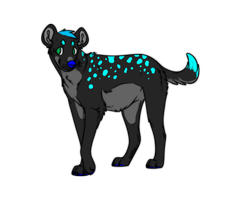 Spotted Yena Adopt SOLD by TheFrizzyKitten