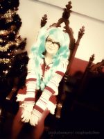 Christmas Miku by PockyBoxxProductions