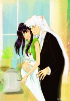Inuyasha and Kagome: Bliss by Nichii
