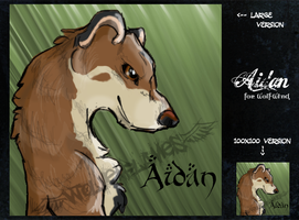 Aidan Weasel Icon by WolvenFlames