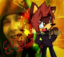 .:ElRubius:. Ruben The Hedgehog by AnaMariaTheHedgehog