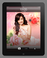 Tiffany iPad Wallpaper by aznnerd09