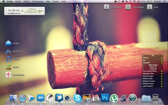 My MBP by Zislauk