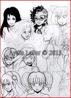 Lilly-Lamb 2013 Sketchies 20 by Lilly-Lamb