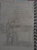 What Daniel does when hes at school... by GrimTalesLover14