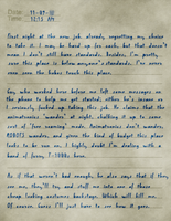 Mike Schmidt's Journal: Page 1 by Mic-Roe-Pony